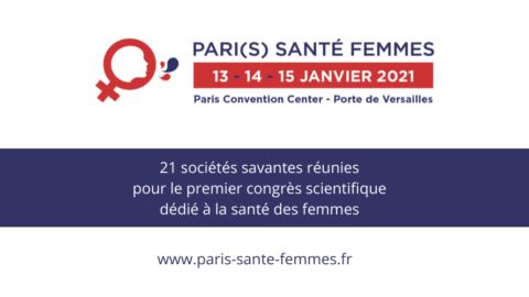 PARI(S) SANTE FEMME 13 AU 15 JANVIER 2021